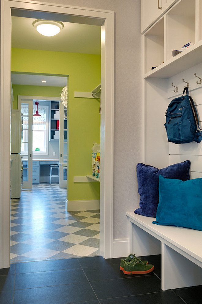 Mudroom open to a separate Laundry Room. Mudroom open to a separate Laundry Room. Mudroom Landry Room Layout #Mudroom #laundryroom #Mudroomlayout #laundryroomlayout