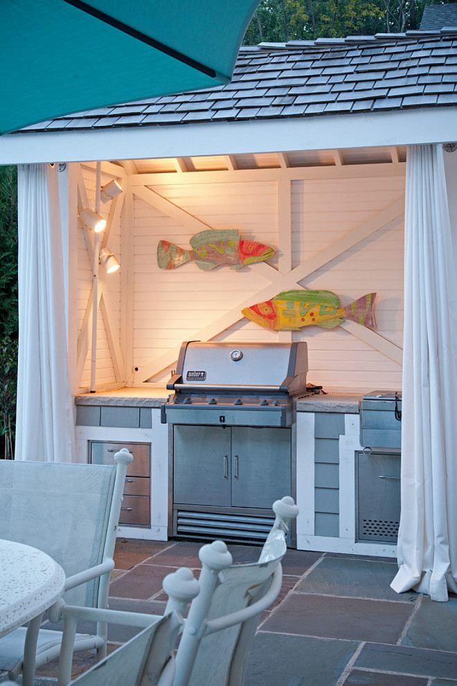 Outdoor kitchen Cabana. Outdoor kitchen Cabana by Pool. Outdoor kitchen Cabana #Outdoorkitchen #Cabana Pillar Homes.