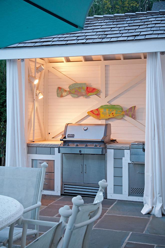 Outdoor kitchen Cabana. Outdoor kitchen Cabana by Pool. Outdoor kitchen Cabana #Outdoorkitchen #Cabana Pillar Homes.