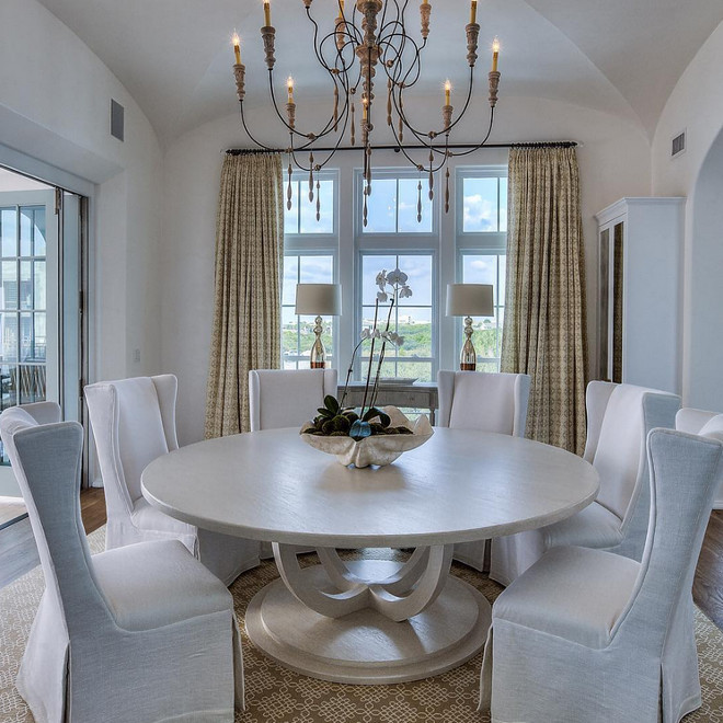 French Dining room. French Dining room table. French Dining room chairs. French Dining room chandelier. French Dining room rug. French Dining room draperies. French Dining room decor. French Dining room photos and ideas. #FrenchDiningroom 30avibe Photography.