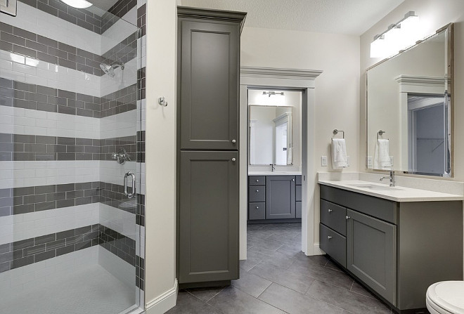 Gray Bathroom Cabinet Floor Tile Ideas, Gray Bathroom Cabinet Wall Tile Ideas, Gray Bathroom Cabinet Tile Ideas #Graybathroom #GraybathroomTiles #GraybathroomFloorTiles #GraybathroomWallTiles #GraybathroomShowerTiles