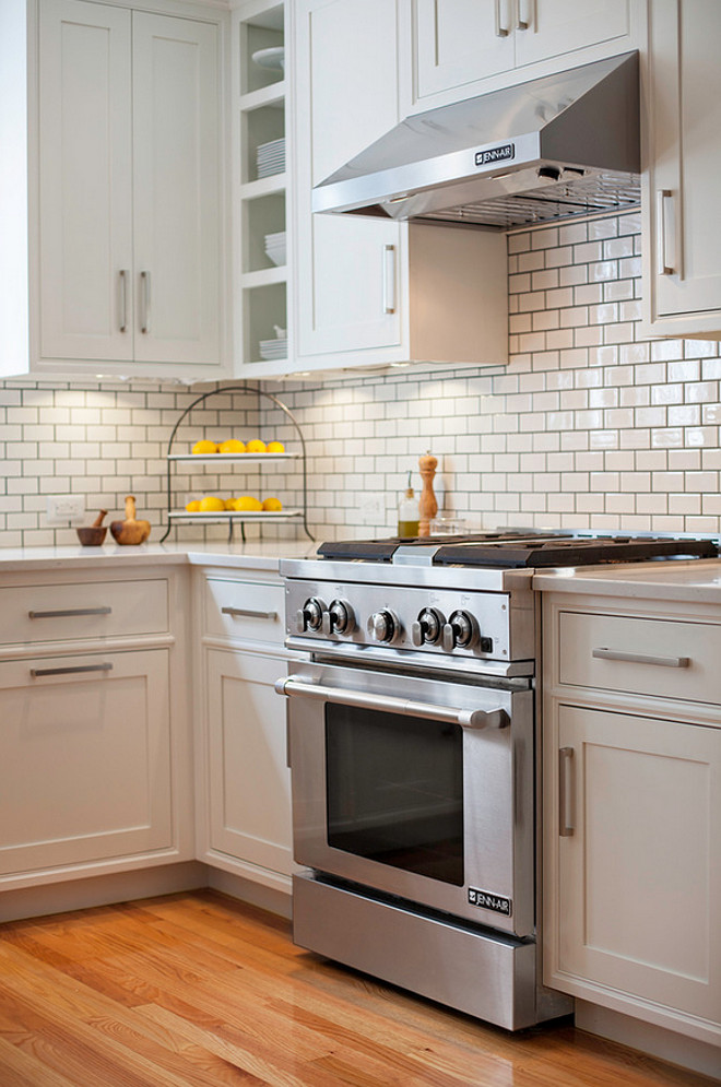 Subway tile backsplash grout color. Subway tile backsplash grout color ideas. Subway tile backsplash grout color is Lacticrete Platinum. #Subwaytilebacksplashgroutcolor #SubwaytileGrout #backsplashgroutcolor  New England Design Works