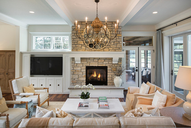 Living Room Fireplace Furniture Layout, Living Room TV Built in Fireplace Furniture Layout, Living Room TV Built in Fireplace Furniture Layout Ideas #LivingRoom #TVBuiltin #Fireplace #FurnitureLayout Divine Custom Homes Bria Hammel Interiors