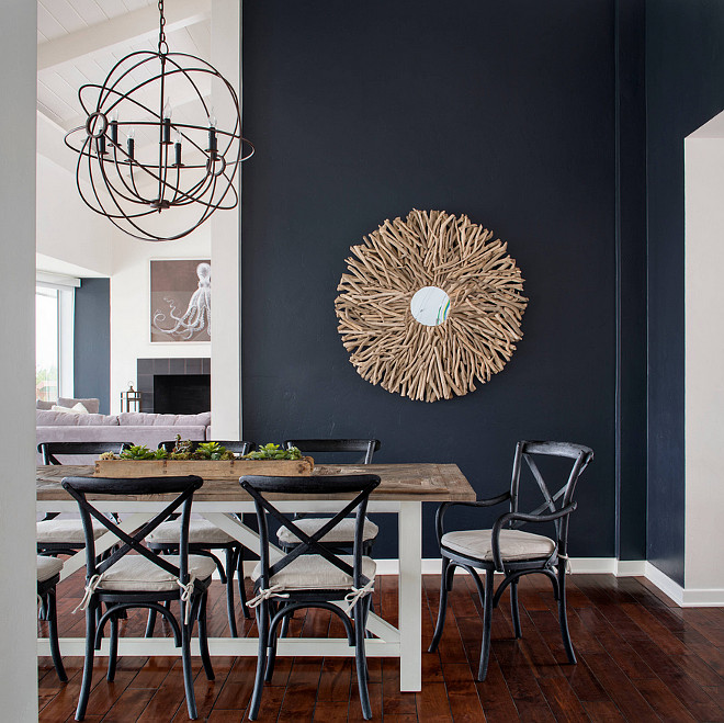 Dunn Edwards 6336 Stargazing. Dunn Edwards 6336 Stargazing Navy Paint Color Dunn Edwards 6336 Stargazing #DunnEdwards6336Stargazing #DunnEdwardsStargazing CM Natural Designs.