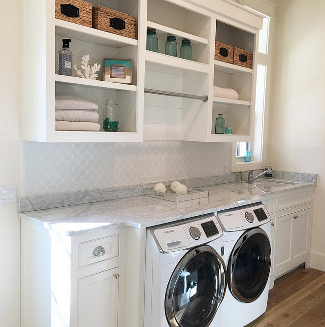 Laundry Room, Instagram Laundry Room, Popular Instagram Pics Laundry Room #LaundryRoom #Instagram #InstagramPics #PopularInstagram our_coastal_farmhouse