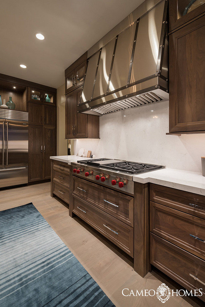 Stainless steel hood. Custom Stainless steel hood ideas. Custom Stainless steel kitchen hood Cameo Homes Inc.