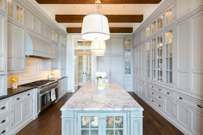 Gray Kitchen Cabinets with gray island. Gray Kitchen Cabinets with gray island ideas. Soft Gray Kitchen Cabinets with soft gray island. Gray Kitchen Cabinets with gray island Paint Color #GrayKitchenCabinets #grayisland #GrayKitchenIsland Artisan Signature Homes.