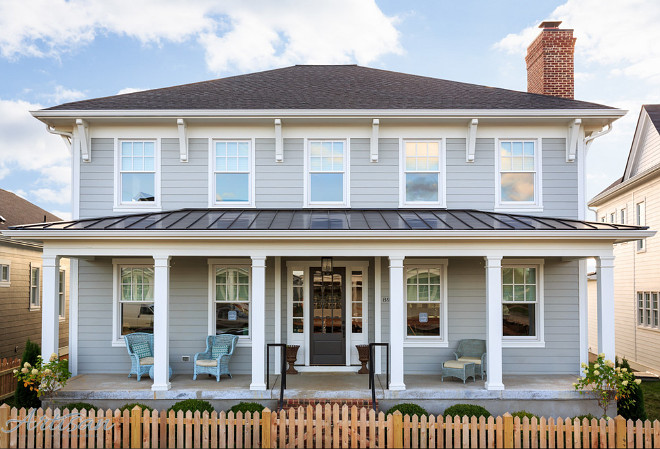 Home paint color ideas with pictures home bunch interior design ideas Benjamin moore exterior gray