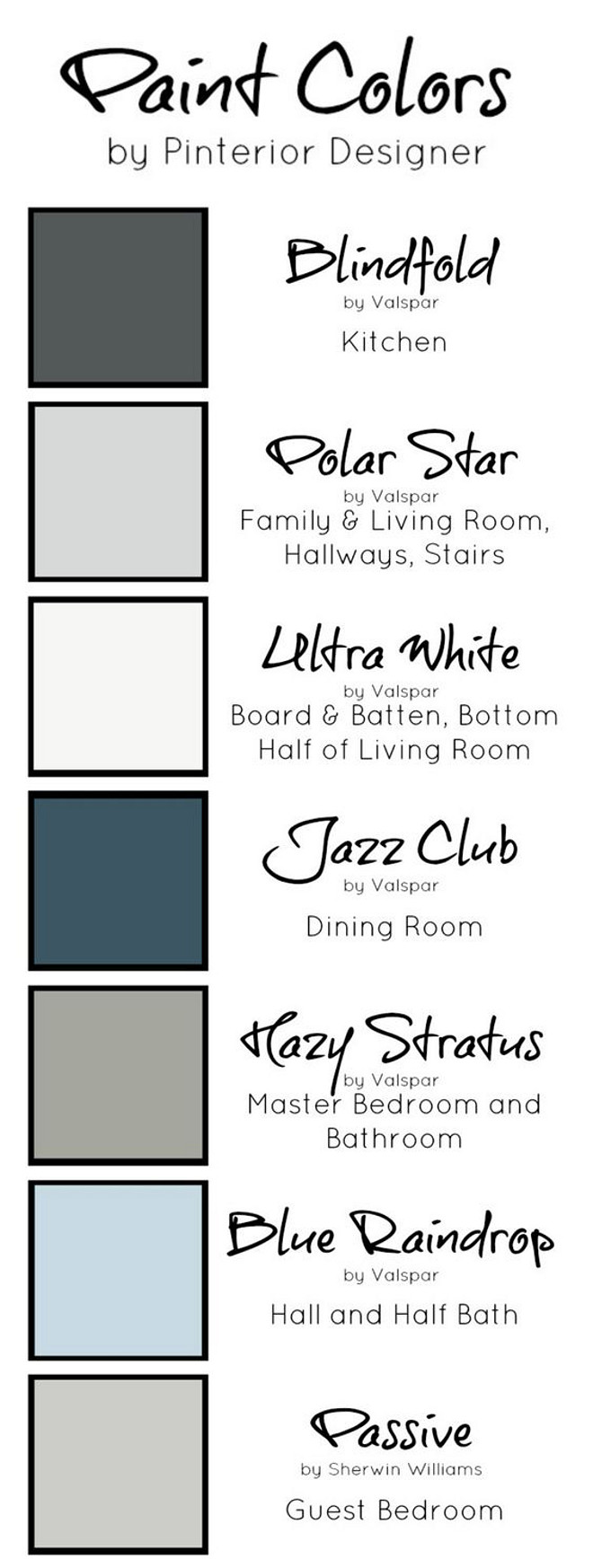 Home paint color ideas with pictures home bunch interior for Neutral blue grey paint color