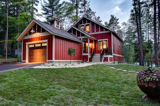 Exterior house siding color ideas home design - Red exterior paint colors design ...