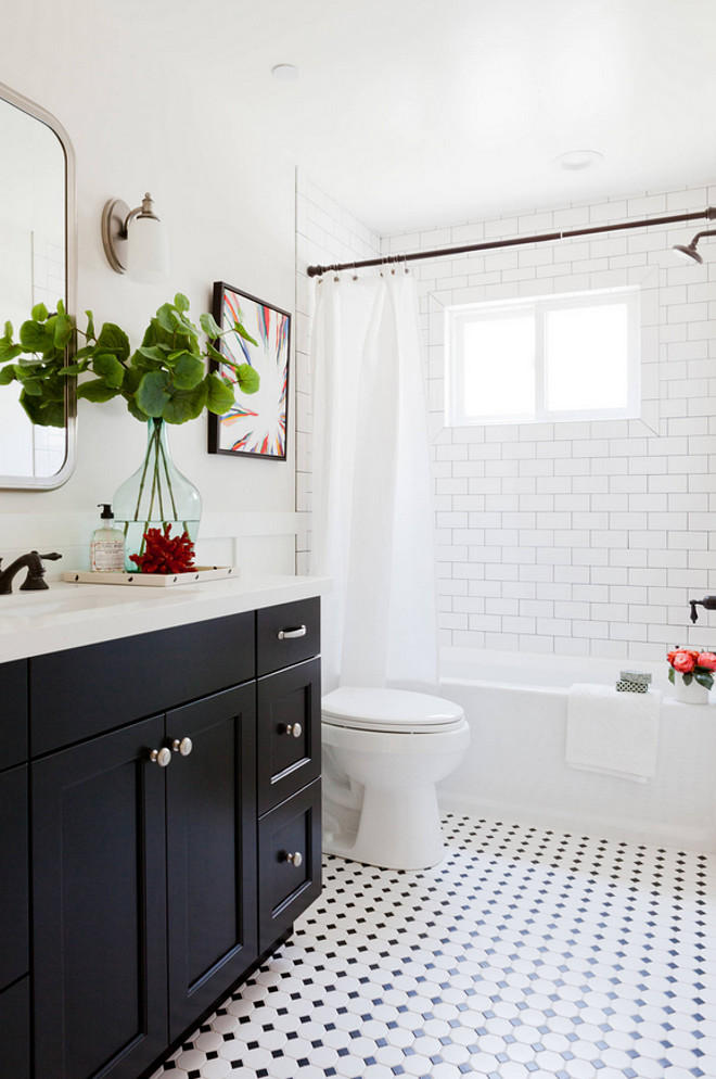 Bathroom Tiling. Easy Bathroom Tiling Ideas. Affordable and classic bathroom tile flooring ideas. Bathroom Octagon and Dot flooring. #OctagonandDot #OctagonandDotFlooring #OctagonandDotTiles #BathroomOctagonandDot #Bathroomtiles #Bathroomtiling #Classicbathroomtiles Kate Lester Interiors