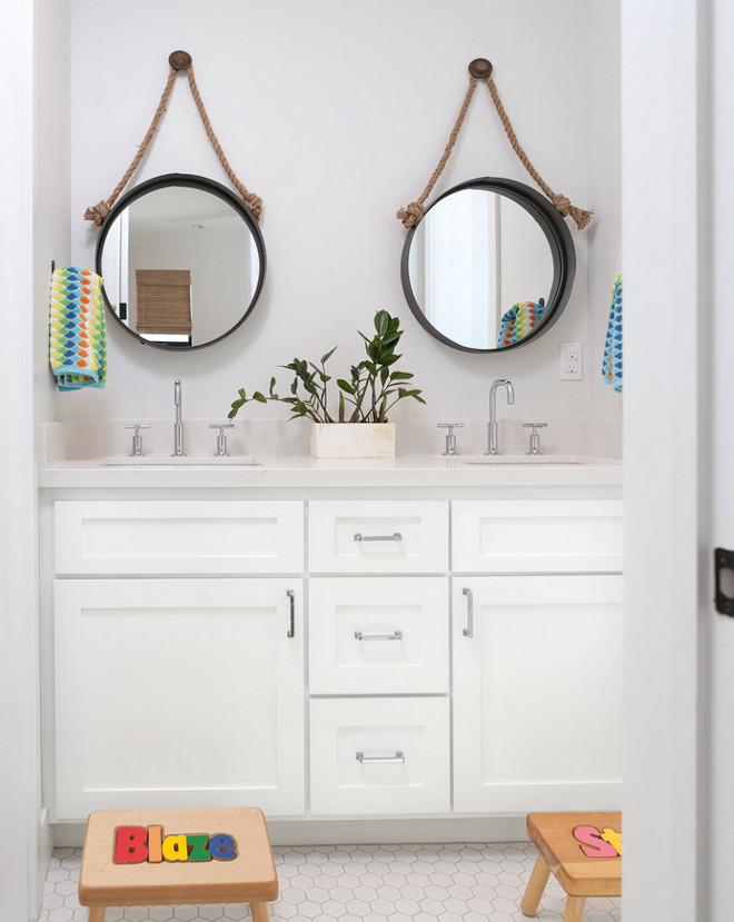 Bathroom with hex floor tiles. Bathroom with hex floor tile ideas and pictures. Bathroom with hex floor tile. #Bathroomhexfloortiles #Bathroomhextiles Jasmine Roth.