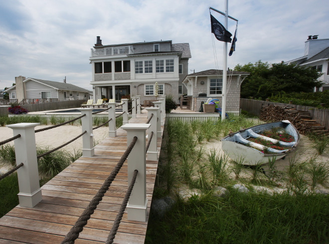 Beach House Backyard .Beach House Backyard with Dock. Beach House Backyard #BeachHouseBackyard Asher Associates Architects
