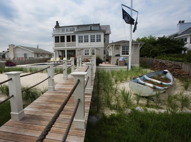 Beach House Backyard .Beach House Backyard with Dock. Beach House Backyard #BeachHouseBackyard Asher Associates Architects