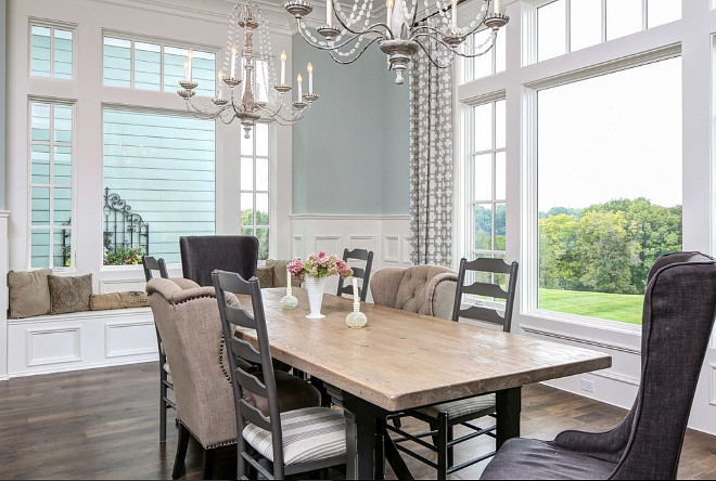 Dining Room Window Seat. Formal Dining Room Window Seat Ideas. Dining Room Window Seat. #DiningRoomWindowSeat Artisan Signature Homes.