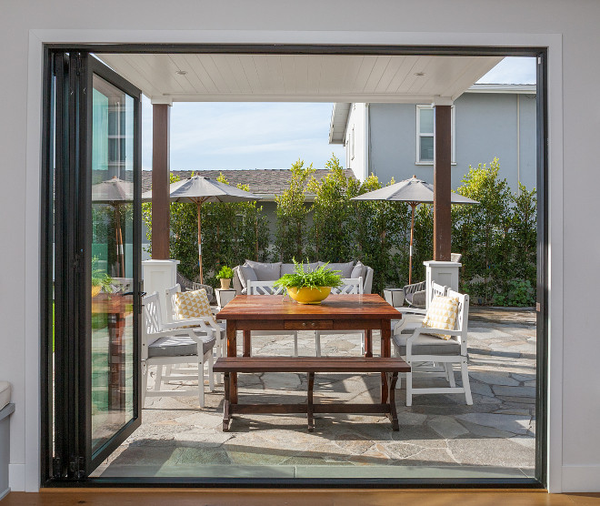 Folding Patio Door. Folding Patio Doors. Folding Patio Door Home Design Photos and Ideas. #FoldingPatioDoor Jasmine Roth.