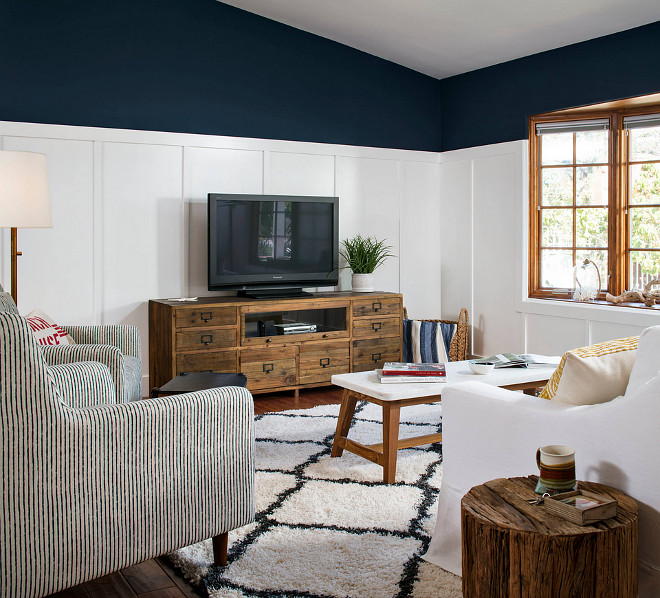 Frazee CL 2276A Bay of Mary. True Navy paint color Frazee CL 2276A Bay of Mary #FrazeeCL2276ABayofMary CM Natural Designs