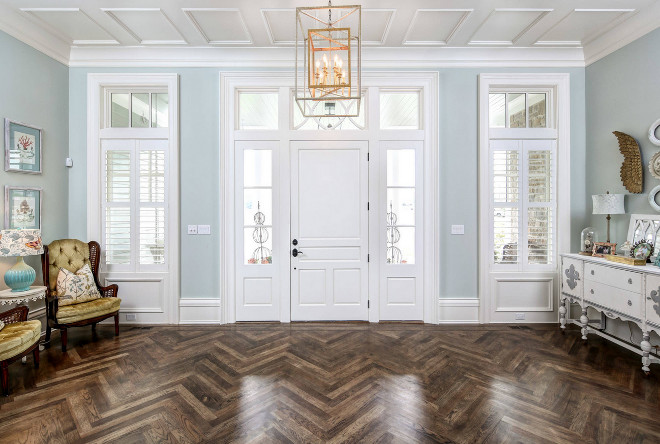 Herringbone wood floor. Herringbone wood floor types. Herringbone wood flooring is Hickory. Herringbone wood floor. #Herringbonewoodfloor #Herringbonewoodflooring Artisan Signature Homes.