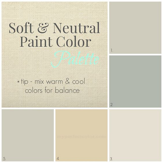 Home Paint Colors For A Neutral Easy Flow Interiors Worldly Gray
