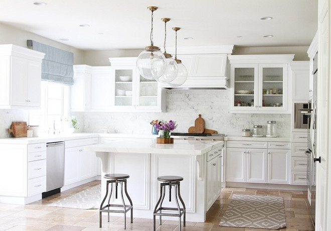 Kitchen Reno. Transform A Tuscan Kitchen Into A Bright White Kitchen. How  To Transform
