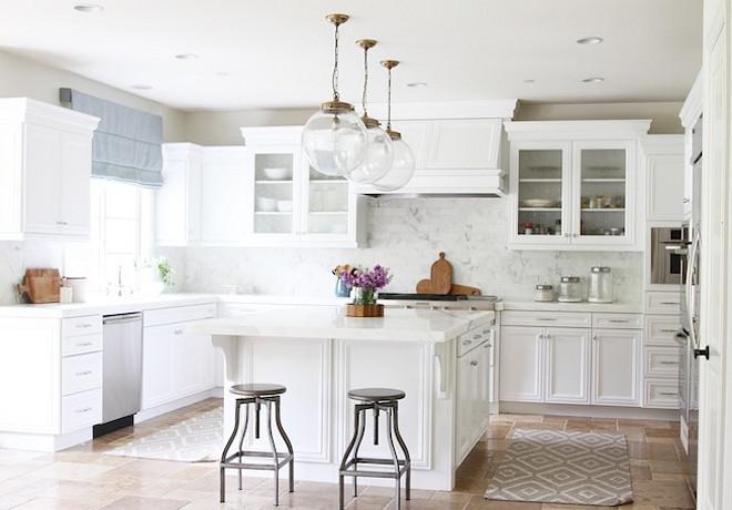Kitchen Reno Transform A Tuscan Into Bright White