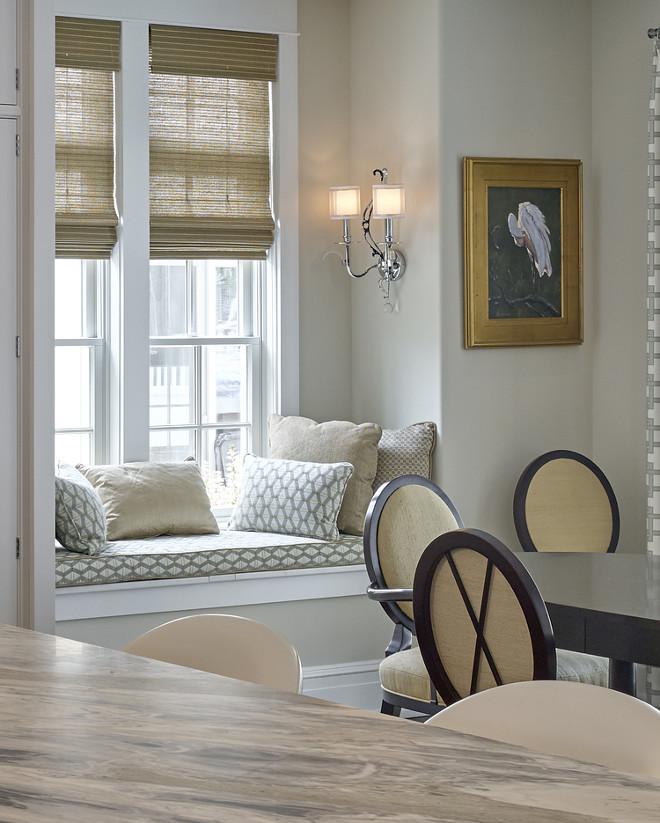 Kitchen window seat. Megan Gorelick Interiors