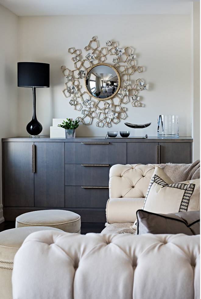 Living room furniture ideas. How to make a small living room look spacious with smart, multi-functional furniture. #smallspaces #smalllivingroom #smallinteriors Elizabeth Metcalfe Interiors & Design Inc.