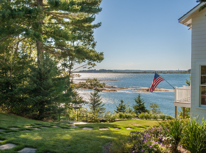 Maine Beach house. Dream beach house in Maine #Maine #BeachHouse Banks Design Associates