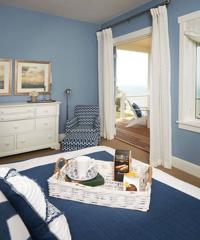 Navy Bedroom Navy Bedroom Ideas. Navy Bedroom decorating ideas. Navy Bedroom Paint Color #NavyBedroom