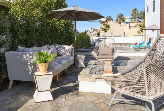 Patio Seating Area Decorating Ideas. Jasmine Roth.