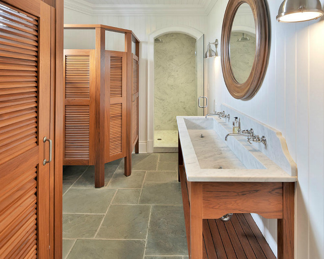 Pool House Bathroom. Pool House Bathroom Ideas. Pool House Bathroom #PoolHouse #Bathroom