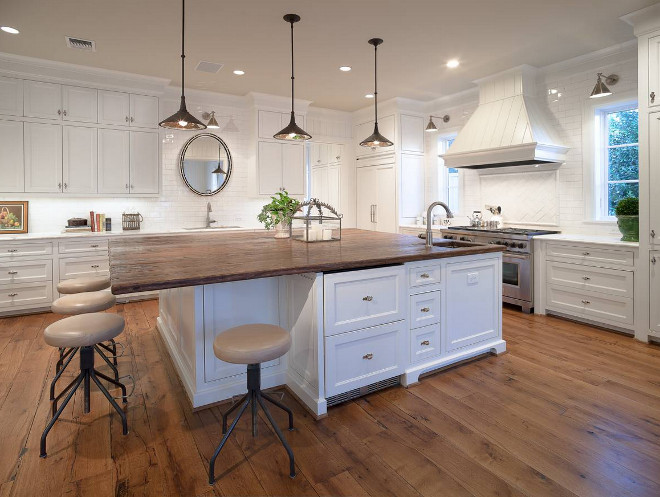 DIY Reclaimed Wood Countertop | Reclaimed wood countertop ...