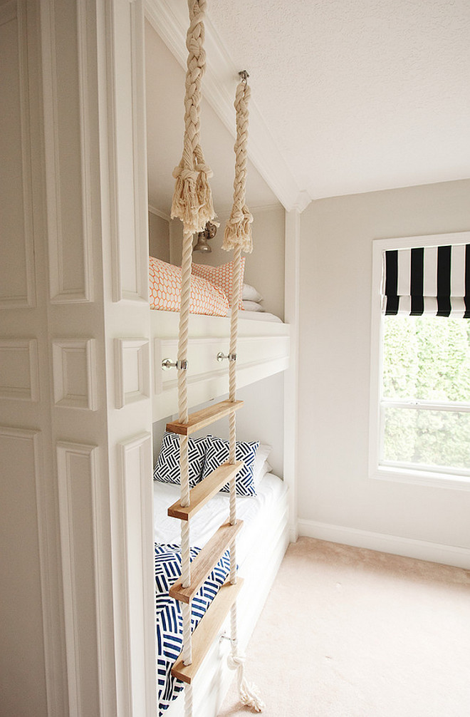 Rope ladder. Bunk bed rope ladder. Bunk bed with rope ladder. #Ropeladder #bunkbeds #Bunkbedladder Mikael Reeve Monson