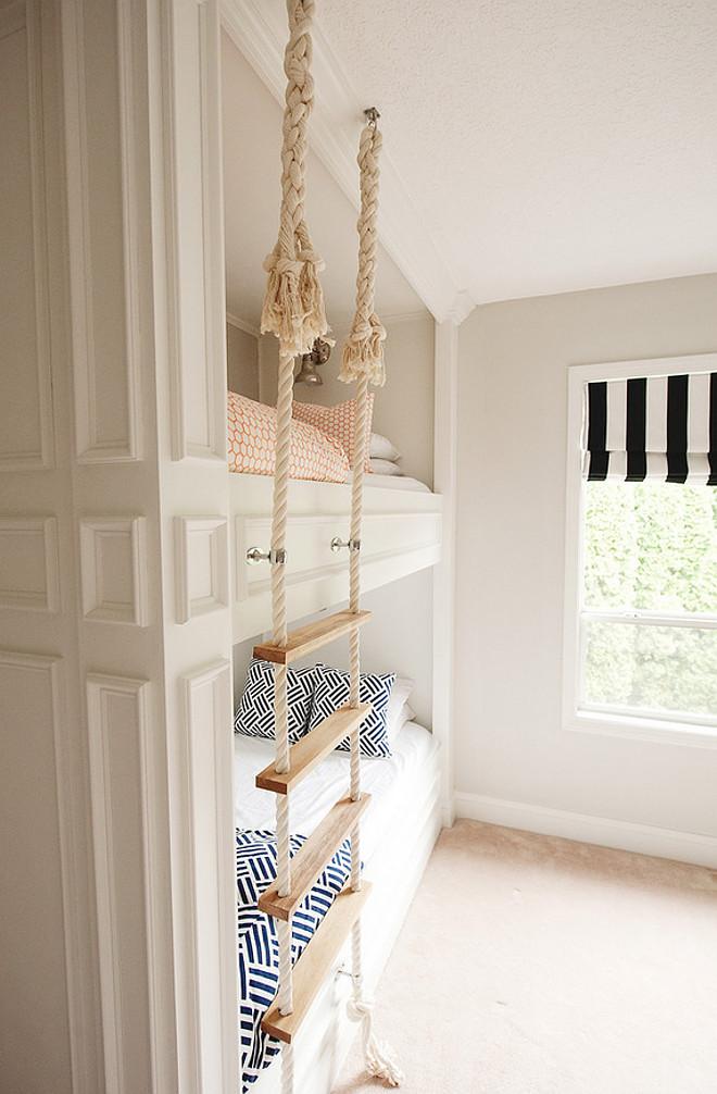 Rope ladder. Bunk bed rope ladder. Bunk bed with rope ladder. #Ropeladder #bunkbeds #Bunkbedladder Mikael Reeve Monson