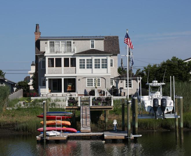 Shingle Home Dock Ideas. Asher Associates Architects