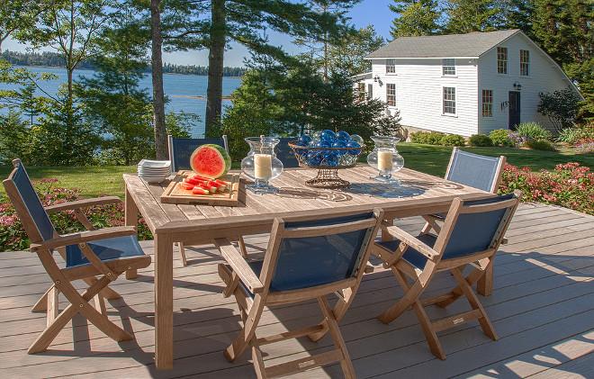 Summer Deck Decorating Ideas #Deck #Summer #DeckDecor Banks Design Associates