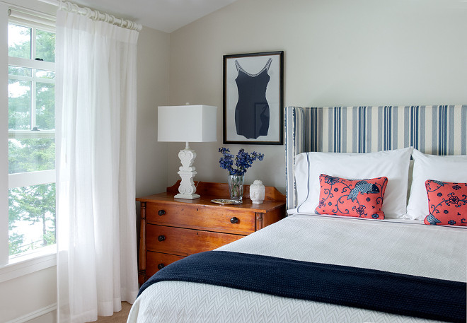 Coastal Cottage Decorating Ideas: Maine Beach House With Classic Coastal Interiors