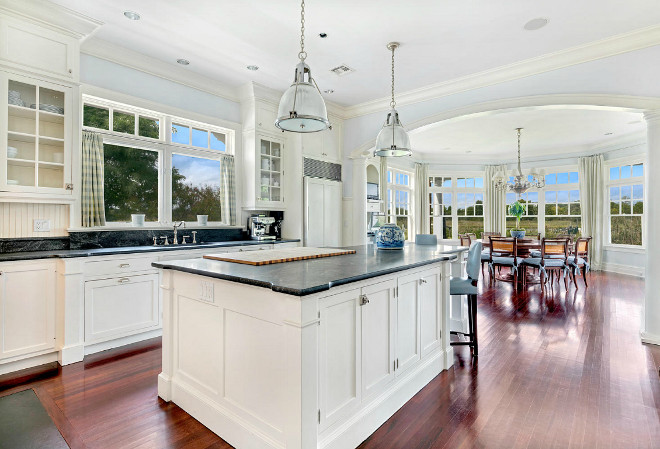 Traditional White Kitchen. Traditional White Kitchen Design. Traditional White Kitchen #TraditionalWhiteKitchen Christie's Real Estate