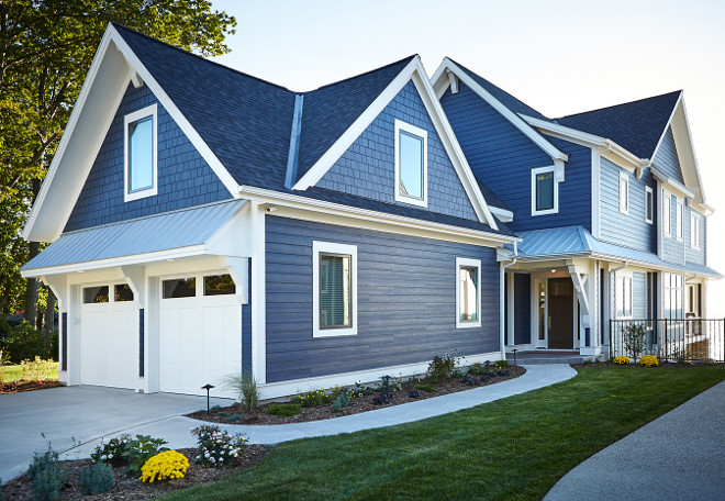 Hale Navy By Benjamin Moore Exterior Paint Color