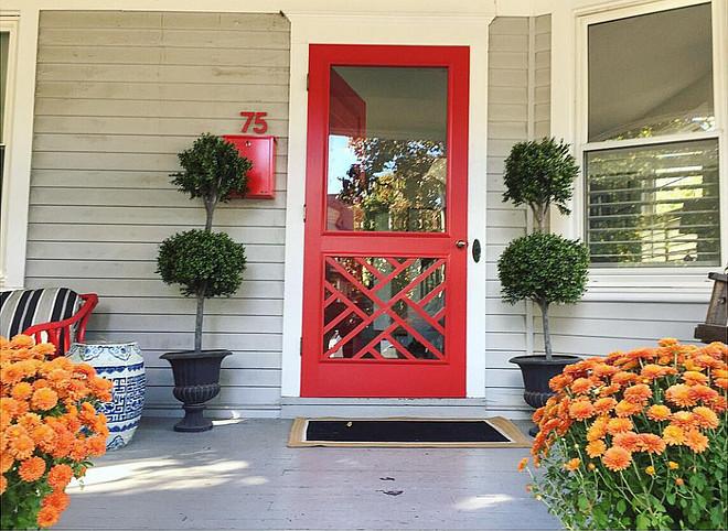 C2 C2-1308 Canadian Flag Paint Color. Red Door Paint Color is C2 C2-1308 Canadian Flag. C2 C2-1308 Canadian Flag Red Paint Color Ideas. Red front door paint color C2 C2-1308 Canadian Flag #C2CanadianFlag #Reddoor #RedDoorpaintcolor Kate Jackson Design