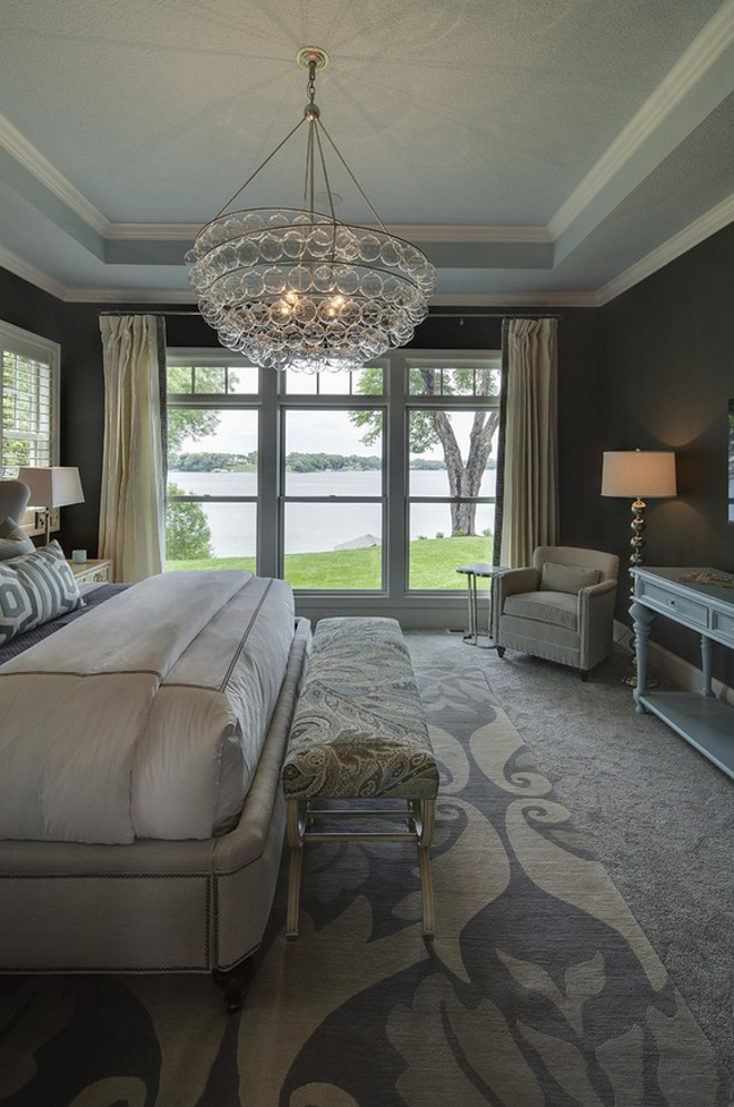 Bedroom Lighting. Bedroom Lighting. Bedroom Lighting Ideas. Bedroom Lighting. Bedroom with bubble glass chandelier. #BedroomLighting #bubbleglasslighting #bubbleglass #bubbleglasschandelier Grace Hill Design. Gordon James Construction.