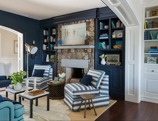 Home Office In Living Room Layout Built Ins