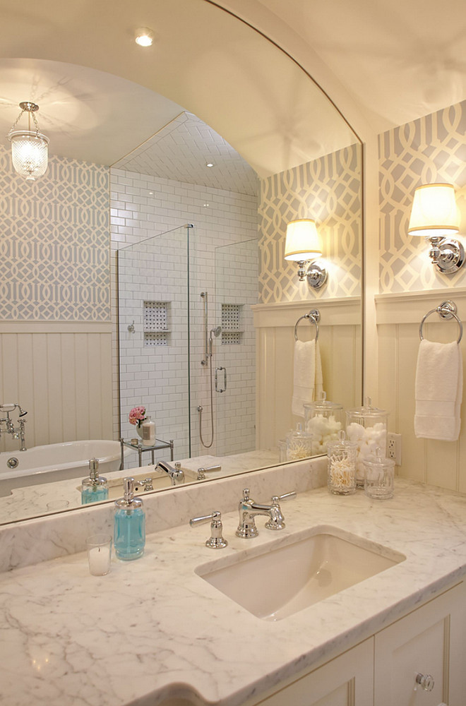 bathroom imperial trellis wallpaper bathroom imperial trellis