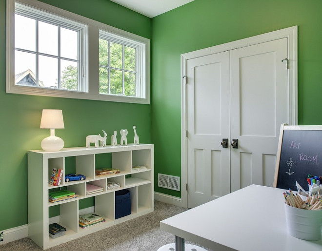 Benjamin Moore Grassy Fields 2034-30. Green paint color Benjamin Moore Grassy Fields 2034-30. Benjamin Moore Grassy Fields 2034-30. Benjmain Moore Grassy Fields 2034-30 Playroom paint color Benjamin Moore Grassy Fields 2034-30 #BenjaminMooreGrassyFields