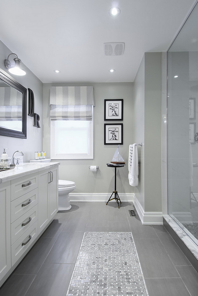 Gray Bathroom Reno. Gray Bathroom Reno Ideas. Gray Bathroom Reno. Gray Bathroom Paint color is Sing Time from Para Paints. #Bathroom #GrayBathroom #Bathroomreno #BathroomRenoPaintColor #GrayBathroomReno #BathroomRemodel #BathroomIdeas #Bathrooms marianiLIND inc.