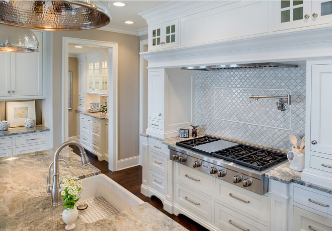 White kitchen cabinets. White kitchen cabinets. Crisp White kitchen cabinet. White kitchen cabinet. White kitchen cabinets #Whitekitchencabinets #Whitekitchen #whitecabinets #Kitchencabinet Alexander Design Group, Inc