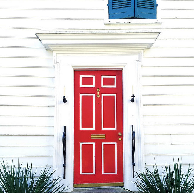 Best Red Door Paint Color. Benjamin Moore Heritage Red HC-181. Red Door Paint Color Benjamin Moore Heritage Red. Benjamin Moore Heritage Red HC-181 is a true red and perfect for front doors. #BenjaminMooreHeritageRedHC181 #RedDoor #RedDoorPaint #RedDoorPaintColor #BenjaminMooreHeritageRed #BenjaminMooreRed #BenjaminMoorePaint Colors Via The Cassina Group Real Estate