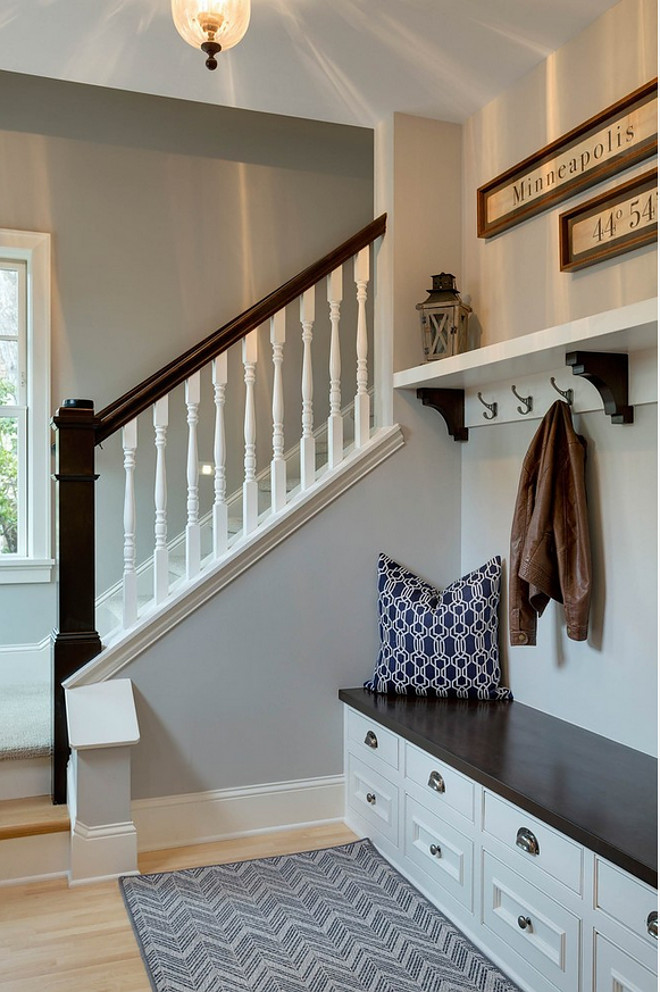 Benjamin Moore Paint Color. Benjamin Moore Stonington Gray. Benjamin Moore Stonington Gray. Benjamin Moore Stonington Gray Paint Color #BenjaminMooreStoningtonGray #BenjaminMoorePaintColors Alexander Design Group, Inc.