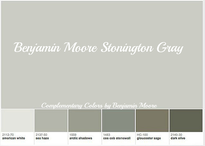28 complementary colors to gray mixing patterns amp for Benjamin moore stonington gray exterior