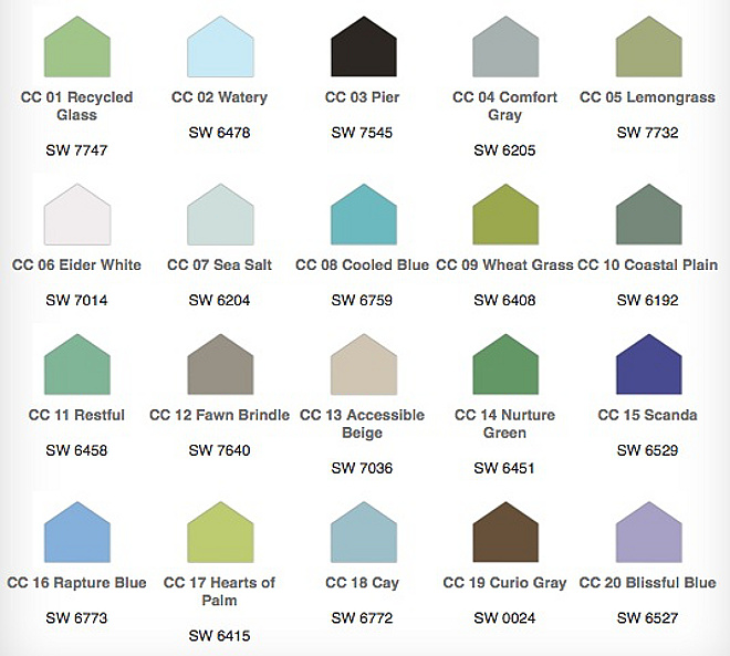 Sherwin Williams Paint Colors Summer Inspired Coastal